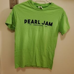 "Pearl Jam T-shirt from the ""Home Shows"" 2018"